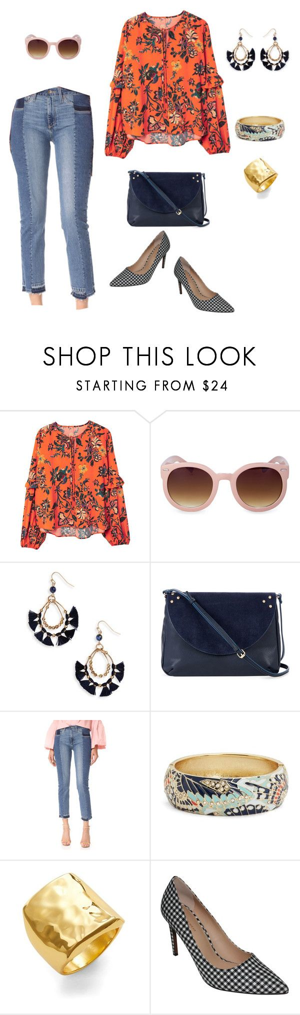"""""""Fall '17 Trends"""" by amandacastro83 on Polyvore featuring MANGO, Panacea, Sole Society, Paige Denim, Sequin and Argento Vivo"""