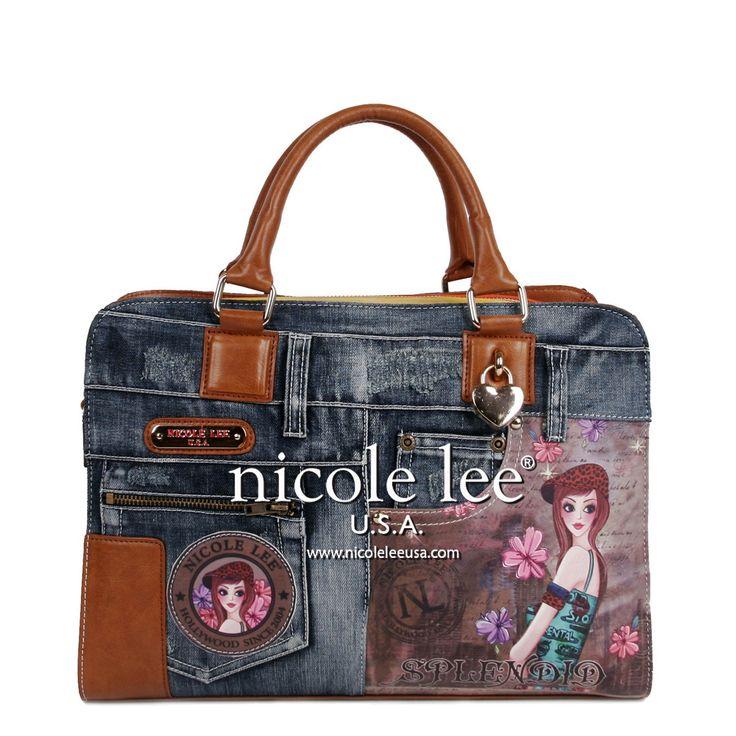 Nicole Lee JS10053-T Cartera Jean - Velui S.A. Importadora Calzado, Carteras y…