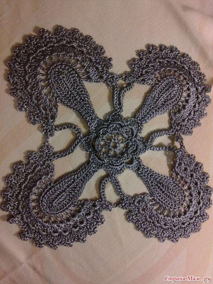 """Платье """"Парижанка"""" от Ванессы Монторо. Вязание. Крючком. Цветное. Платья. Юбки…"""