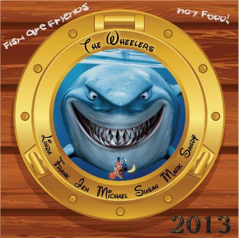 Custom Personalized Finding Nemo Bruce Disney Cruise Line Stateroom Door Magnet on Etsy, $15.00