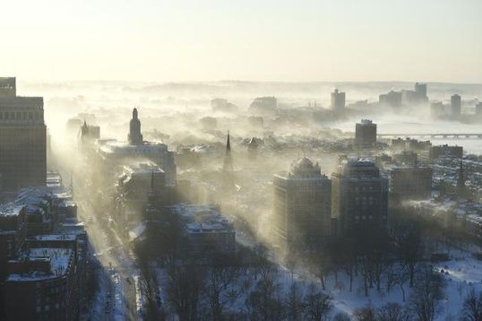 28 astonishing photos from record-setting winter | Weather - WCVB Home