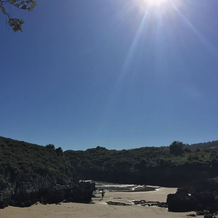 El pronóstico dice que mañana se termina lo bueno  Vamos a aprovechar! #asturias #paraisonatural #playa #estoesvida