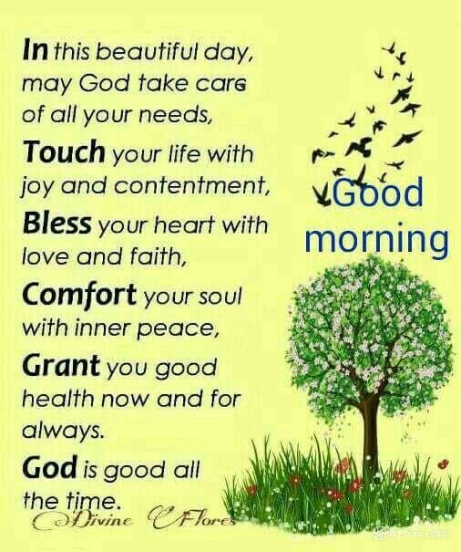 Good Morning Spiritual Inspirations | Inspirational good ...