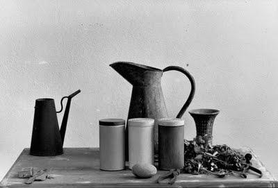 Artist Giorgio Morandi's Studio /2: photo by Gianni Berengo Gardin.