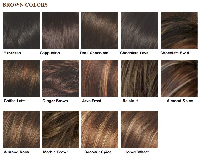 light brown salon color | Color Chart | Hair and beauty in ...