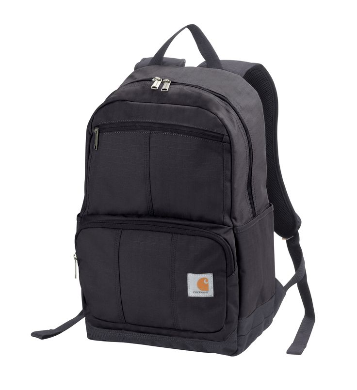Carhartt Bags: 110313 01 Black D89 Rain Defender Backpack #CarharttClothing #DickiesWorkwear #WolverineBoots #TimberlandProBoots #WolverineSteelToeBoots #SteelToeShoes #WorkBoots #CarharttJackets #WranglerJeans #CarhartBibOveralls #CarharttPants
