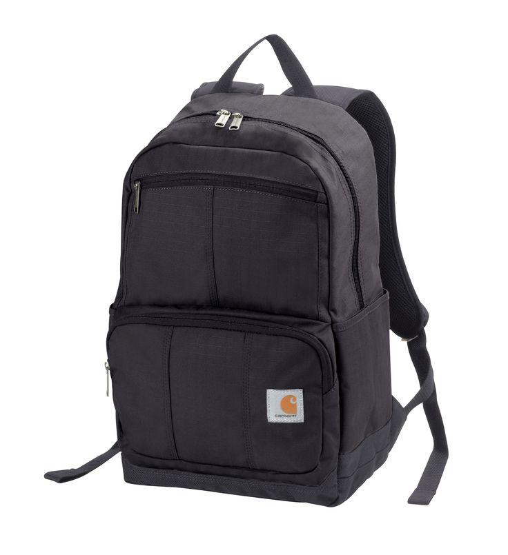 Carhartt Bags: 110313 01 Black D89 Rain Defender Backpack #CarharttClothing #DickiesWorkwear #WolverineBoots #TimberlandProBoots #WolverineSteelToeBoots #SteelToeShoes #WorkBoots #CarharttJackets #WranglerJeans #CarhartBibOveralls #CarharttPants