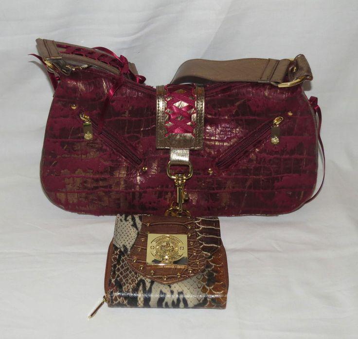 Ricarda M Tasche Damentasche Handtasche Portemonnaie Geldbörse in Kleidung & Accessoires, Damentaschen | eBay