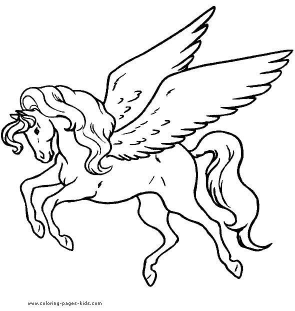 pegasus color page fantasy and medieval coloring pages coloring pages for kids thousands of free printable coloring pages for kids