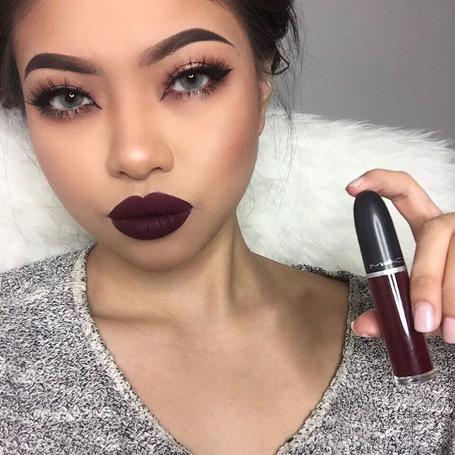 Mac Cosmetics Liquid Lipstick In Quot High Drama Quot Kortenstein