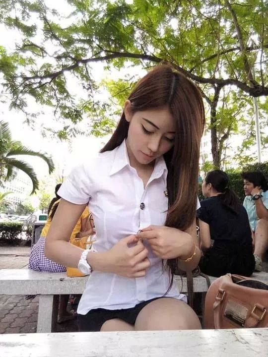 Take It Off Girl  Thai Student  Pinterest  Girls -1564