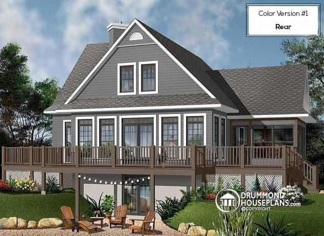 This Kind Of Photo Is Definitely An Inspiring And Extraordinary Idea Countrycottagehouseplans Lake House Plans Vacation House Plans Cottage Plan