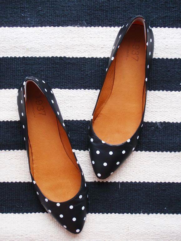 Madewell Polka Dot Flats