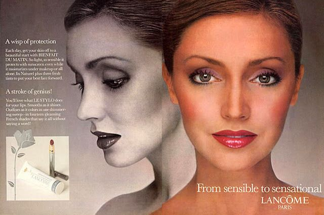 ec0e320327bd7 58 best images about Ads  Lancome on Pinterest Nancy dell olio Isabella  rossellini and Carol
