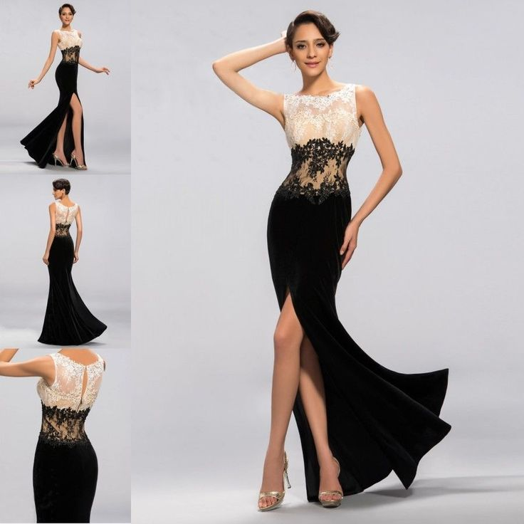 Black And White Formal Dresses - Dress Xy