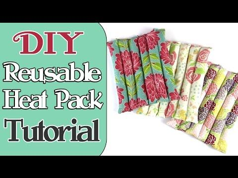 She Makes A Wonderful Rice Heat Pack That Is Useful To All Of Us At Times... - DIY Joy