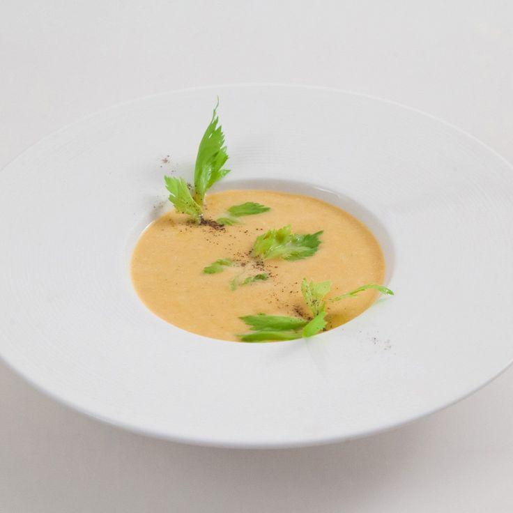 Суп из батата с кленовым сиропом
