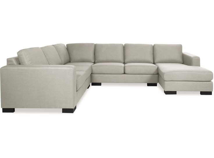 Sit back and embrace the comfort of the Canterbury corner lounge suite. Made up of four individual pieces and designed for laid back lounging, the Canterbury�s deep seat and large scale make it a great choice for family rooms. Clean lines gives this suite a modern look with the comfort to match.