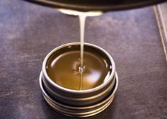 Make your own homemade solid perfume with essential oils . . . would make such a neat gift!