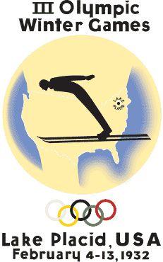 1932 Lake Placid - III Olympic Winter Games