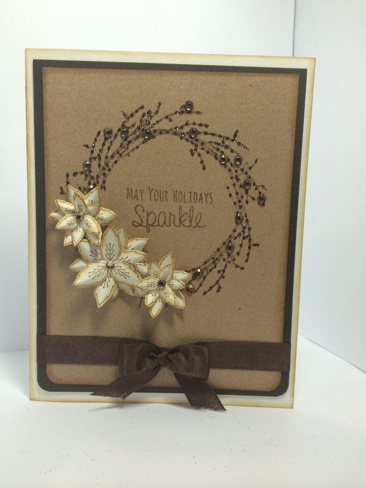 Twig Wreath stamp set