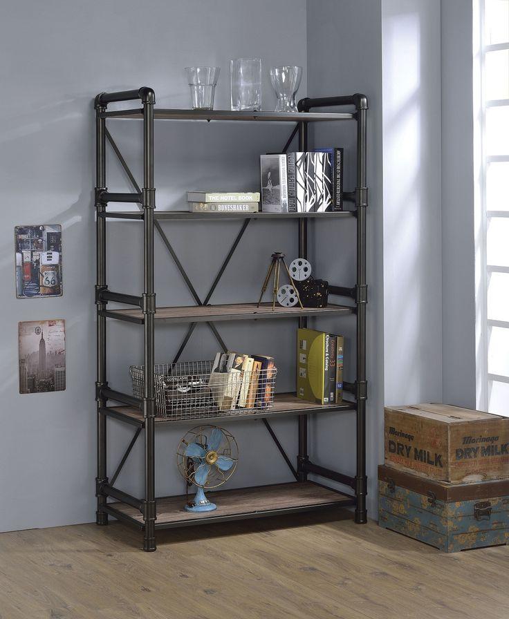 M s de 1000 ideas sobre estantes met licos en pinterest - Estantes de metal ...