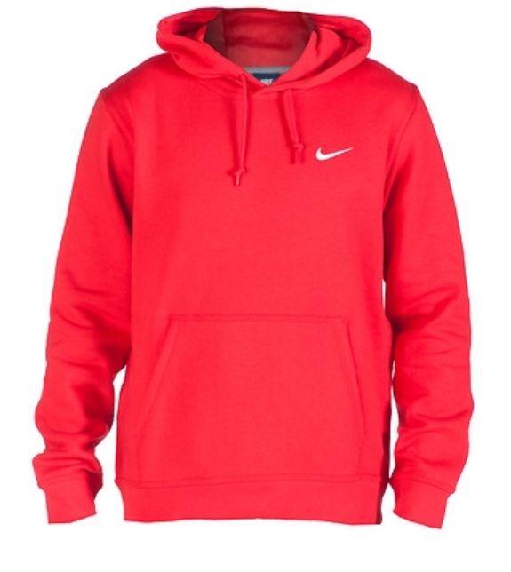 6b48a56ad red nike hoodie | Outfits in 2019 | Nike sweatshirts hoodie, Red ...