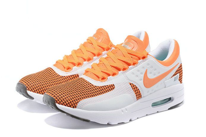 best sneakers 8175e 872b1 NOUVEAU Men Nike Air Max Zero Hot Lava Bright Citrus White