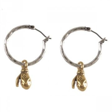 Hultquist-Copenhagen Wild Strawberries Hoop Earrings  These silver plated textured hoop earrings feature a beautifully detailed gold plated Wild Strawberry bud.  The hoop diameter is 2.5cm & pod length is 1.5cm approximately.