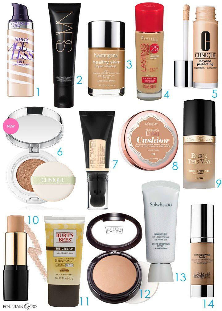 The Best of The Best in Anti-Aging Foundations