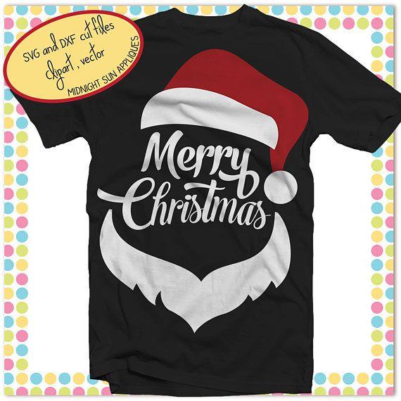 Merry ChrisTmas svgsanta claus svgchristmas cut