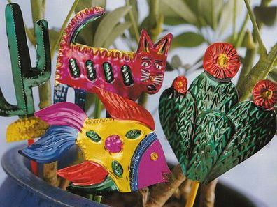 1000 images about mexican christmas ornaments to make on for Mexican christmas ornaments crafts
