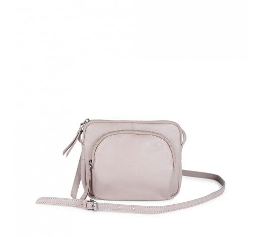 Amira Crossbody Bag in nude leather // Markberg