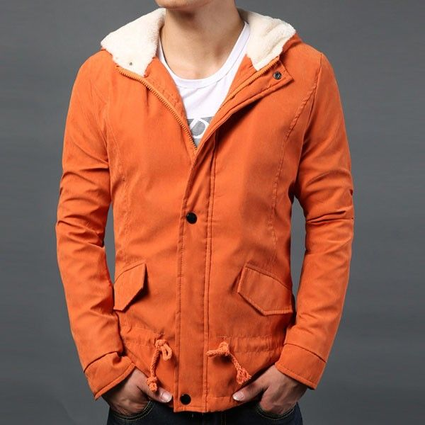 4 Colours Hoodie Style Warm Cotton-padded Clothes Coat Outerwear/79421 via AmaSell. Click on the image to see more!