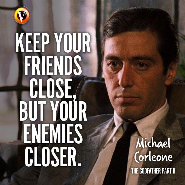 Friendship Quotes Godfather : Best michael corleone quotes on godfather