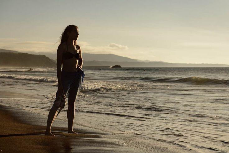 Dancer: Carla Barrio #dance #photography, #atardecer #danza #fotografia #playa #beach