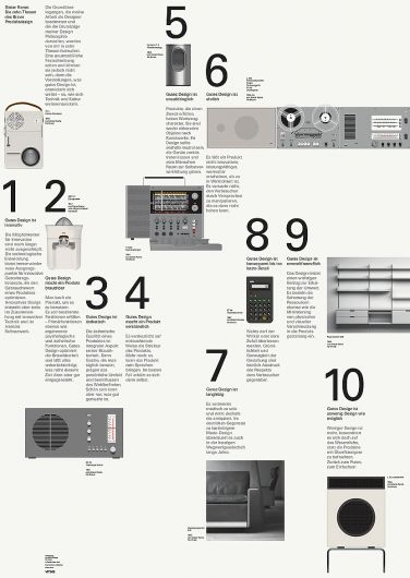 Dieter Rams _ http://www.bibliothequedesign.com/projects/communications/dieter-rams-ten-principles/
