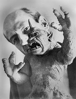 "Ray Harryhausen, a pioneer of stop-motion animation, with the Cyclops model from ""The 7th Voyage of Sinbad"""