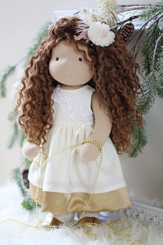 """Waldorf Doll Dress fots 17"""" - 19"""" dolls"""