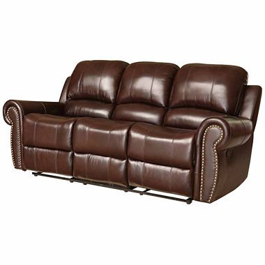 1000 images about reclining leather sofas on pinterest for Jcpenney leather sectional sofa
