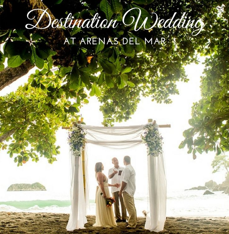 Have the ultimate destination wedding at Arenas del Mar! #CostaRica #wedding #destinationwedding #honeymoon