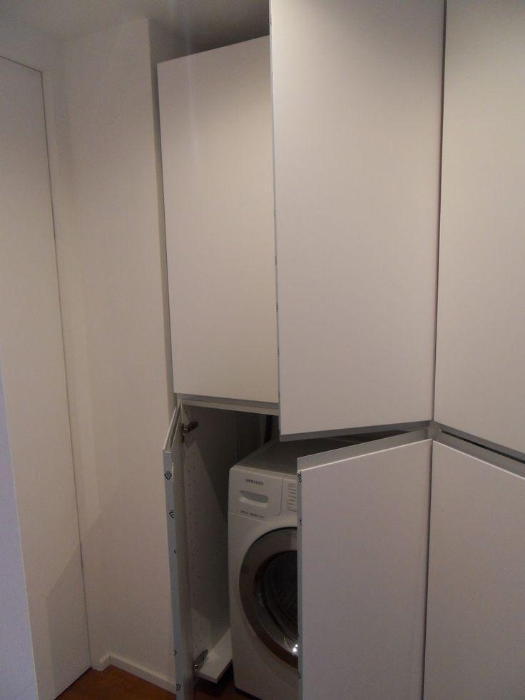 17 migliori idee su armadi lavanderia su pinterest sale - Ikea armadi su misura ...