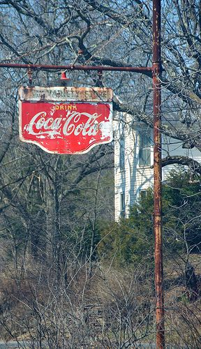 Old Coca Cola Variety Store Sign