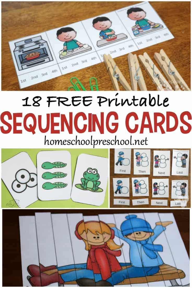 Start Building A Strong Foundation For Math And Reading By Introducing Sequencing Activities Preschool Sequencing Activities Kindergarten Preschool Activities [ 1100 x 735 Pixel ]