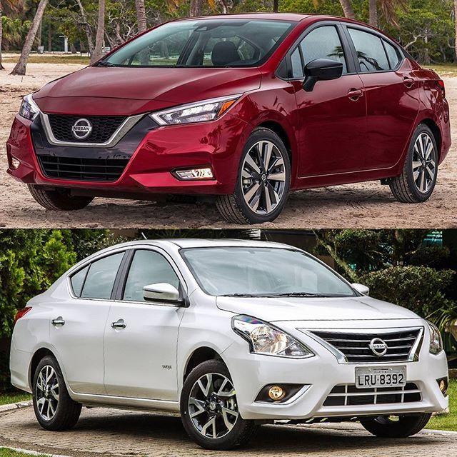 Nissan Versa 2020 X Nissan Versa 2019 Mudanca Radical Na Nova Geracao Do Seda Compacto Japones Heim Parece Ate Aquele Cont Cute Cars Sport Cars Nissan Versa