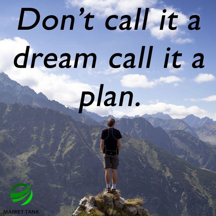 Set your plans in motion! #success #motivation #workhard #money #marketing markettank.com