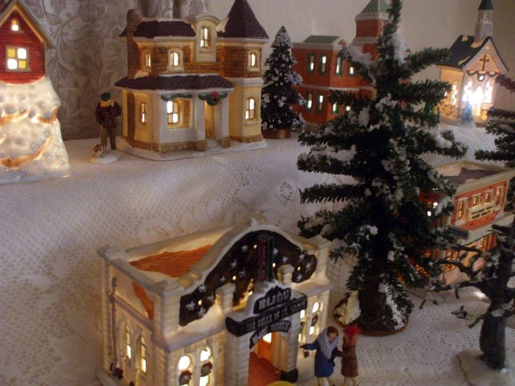 47 best It's A Wonderful Life Christmas Village images on ...