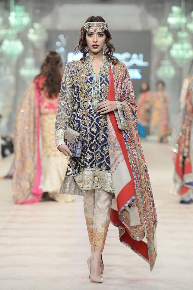 Zara Shahjahan showcased A Folk Tale at PFDC L'Oreal Paris Bridal Week 2014