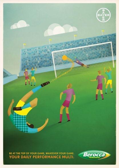 Berocca: Soccer