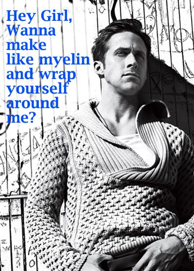 Science puns and Ryan Gosling. I can't think of a better combination